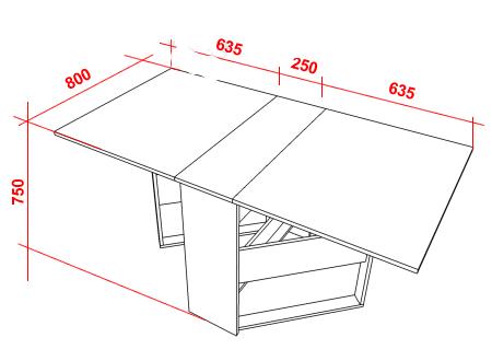 Как сделать стол книжку своими руками?