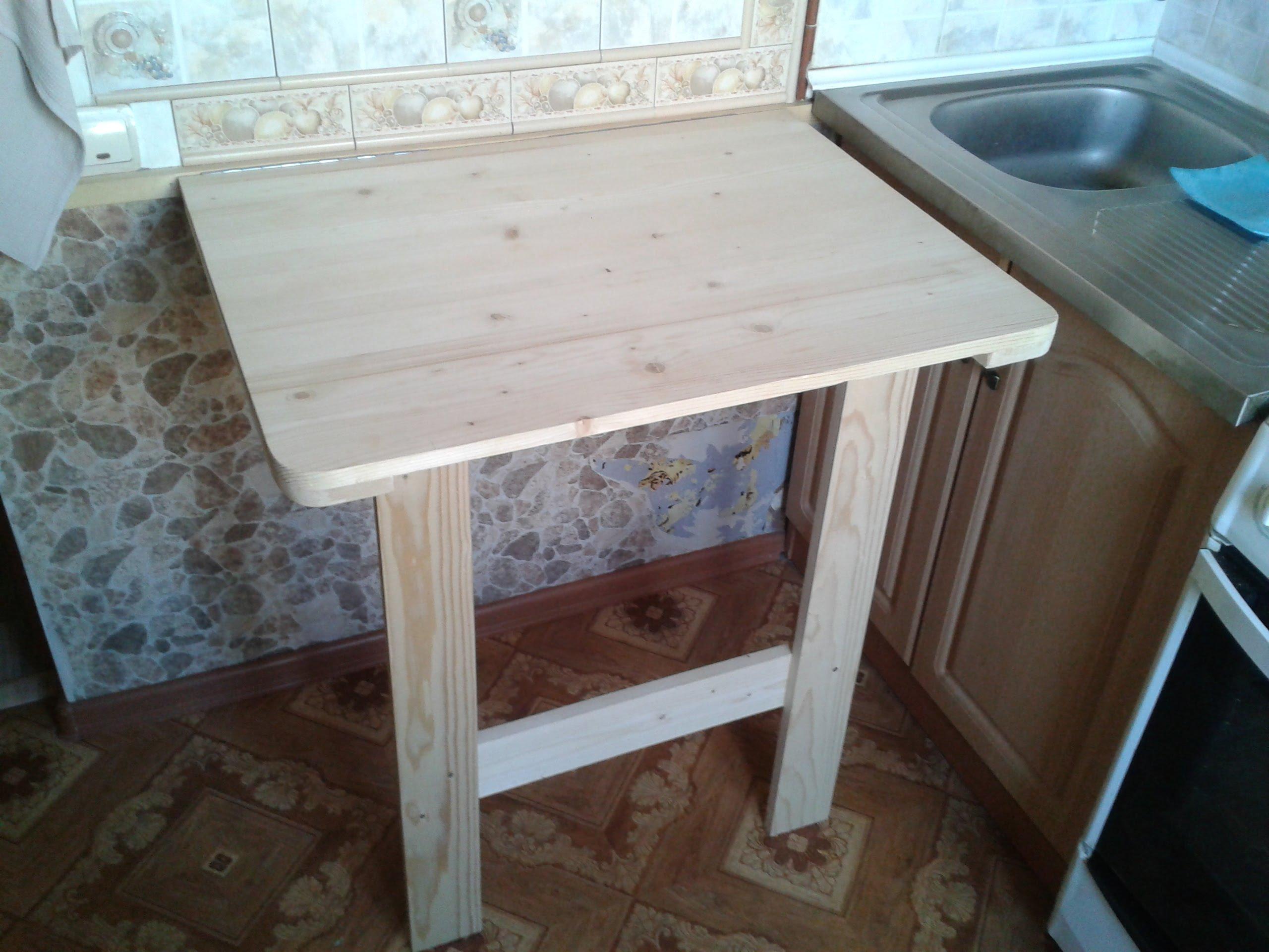 Стол для маленькой кухни своим руками фото 62