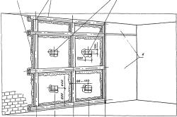 Схема установки гипсокартона на каркас