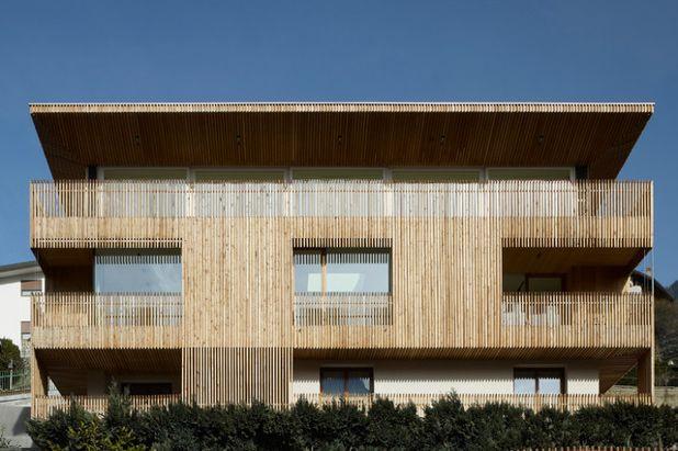 Современный Фасад дома by BURNAZZI FELTRIN ARCHITETTI