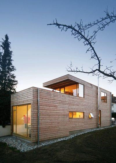 Современный Фасад дома by Wolfgang Fischer Architektur