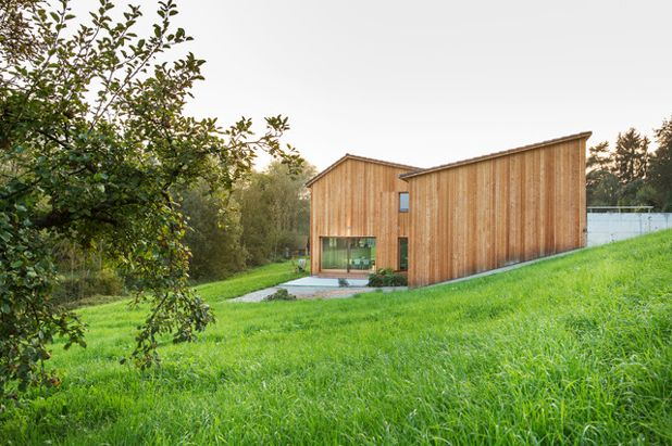 Современный Фасад дома by Bach Dolder Architekten