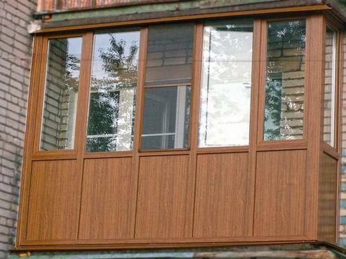 Отделка балкона снаружи обшивка своими руками фото