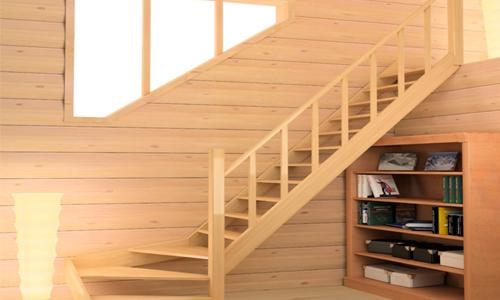 Покраска краской или лаком деревянной лестницы своими руками