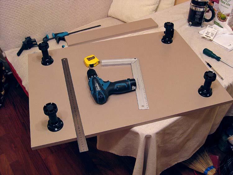 Руководство по изготовлению кухонной мебели своими руками
