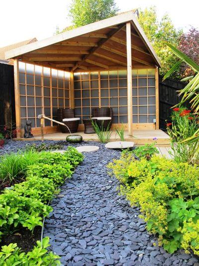 Восточный Сад by Katherine Roper Landscape & Garden Design