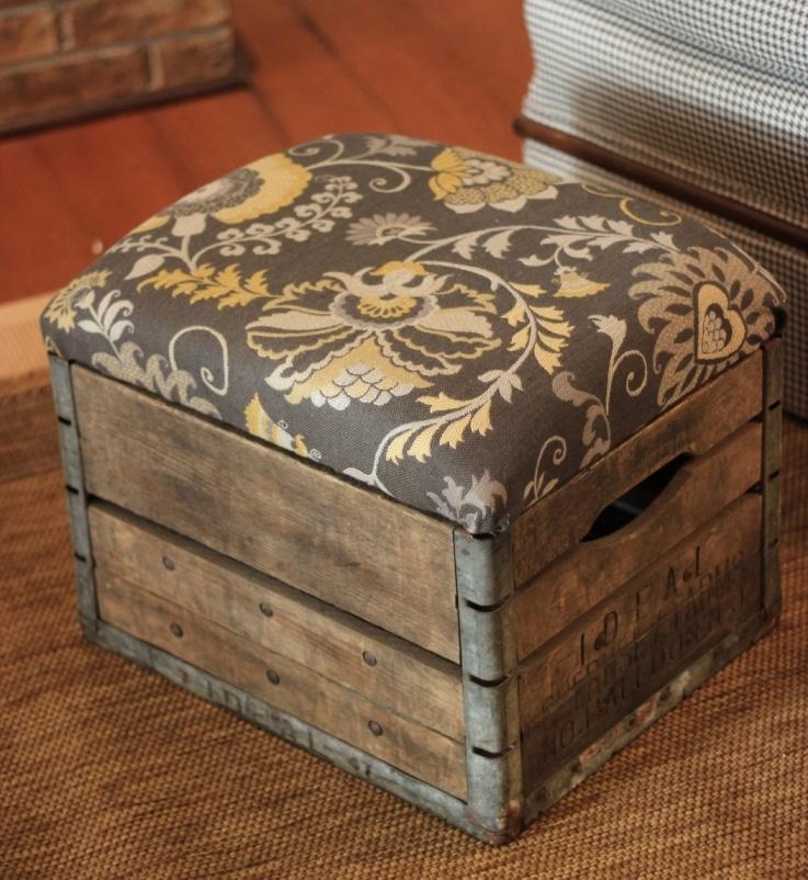 старый деревянный ящик