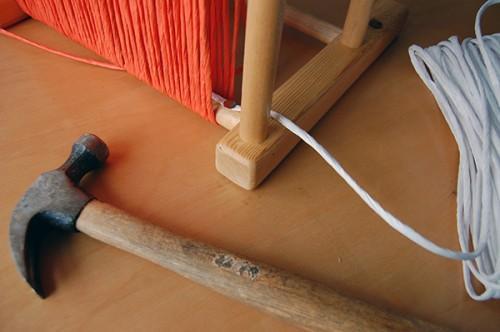 контрастное плетение
